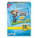 Cheap Teddy Grahams Honey Graham Snack Packs, 12 Count Individual Snack Bags