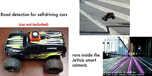 JeVois-A33 Quad-Core Smart Machine Vision Camera for PC, Mac, Linux, Arduino, Raspberry Pi - BLACK - DEVELOPER / ROBOTICS KIT