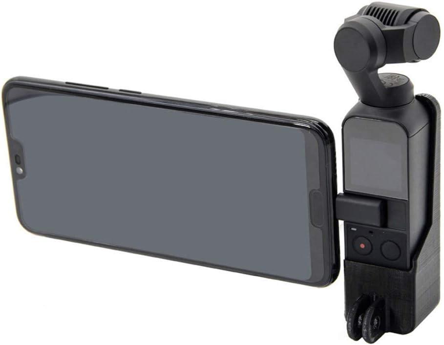 jiumoji Montaggio Base Adapter Per Vite 1//4 Screw Adapter Per Compatible with DJI Osmo Pocket Camera