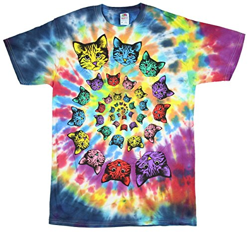 4d875e56 Catopia Tie Dye Kitty Cat Graphic T-Shirt - Tee Collection, T-Shirts  Collection, T-Shirts Shop