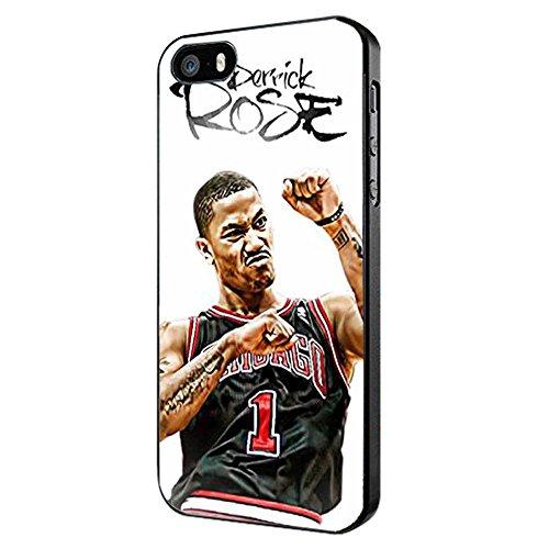 Derrick Rose for iPhone Case (iPhone 5/5s black)
