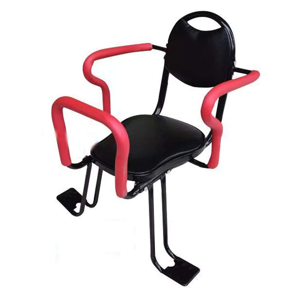 NACHEN Bicycle Baby Rear Seat Kids Child Safety Carrier Seat Saddle Cushion with Back Rest Foot Pedals