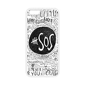 Custom TPU case with Image from Band 5SOS 5 Second of Summer Snap-on cover for iphone 6 Plus 5.5