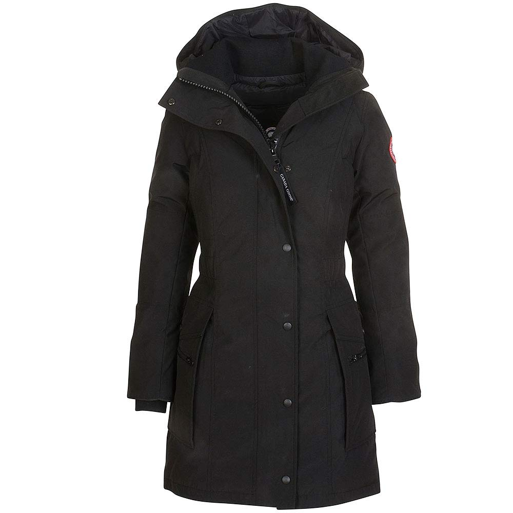 Canada Goose Kinley Parka in Black  Amazon.co.uk  Clothing 6075d6d0f