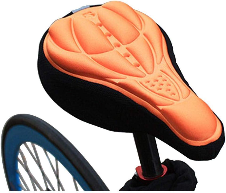 TAOZYY Gel de Silicona Grueso Suave Bicicleta Ciclismo Sillín ...