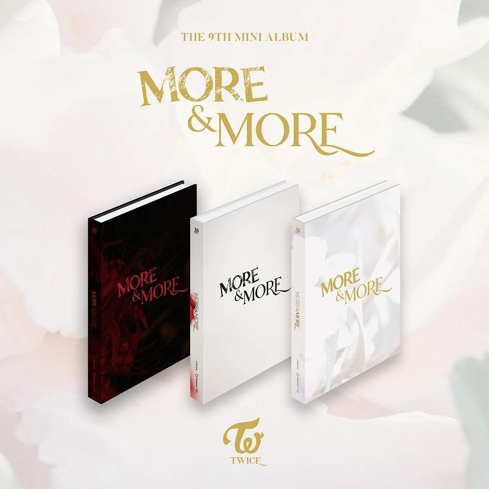 JYP Twice - More & More (9th Mini Album) Album+Pre-Order Benefit+Folded Poster+Extra Photocards Set (A ver.)