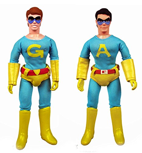 Saturday Night Live the Ambiguously Gay Duo Ace and Gary 8-inch Action Figures Set of 1 Each (Ace And Gary)