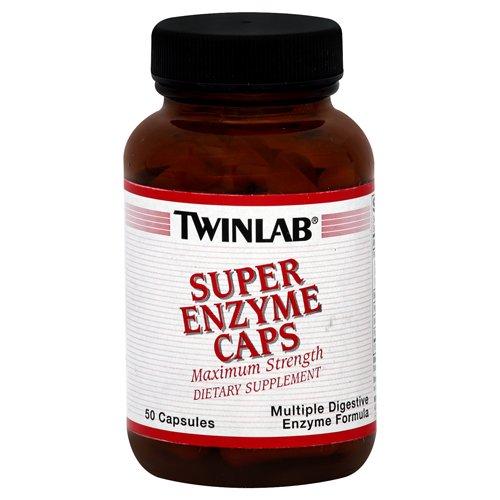 Twinlab Super Enzyme Caps - 50 Capsules