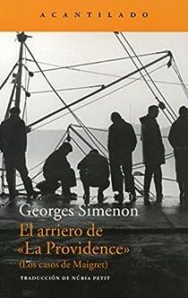 El arriero de 'La Providence' par Simenon