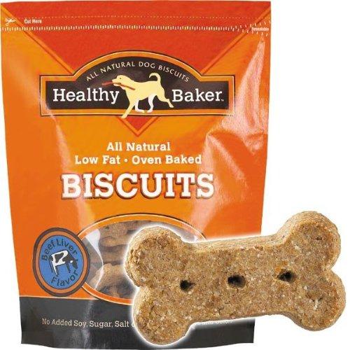 Healthy Baker 2-Pound Dog Biscuit, Beef Liver, My Pet Supplies