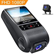 """#LightningDeal APEMAN Dash Cam FHD 1080P Car Camera with 3"""" LCD Screen, 170° Wide Angel, G-Sensor, WDR, Loop Recording, Motion Detection, Night Vision"""