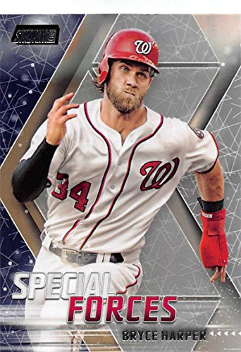 2018 Topps Stadium Club Special Forces #SF-BH Bryce Harper Nationals Baseball Card