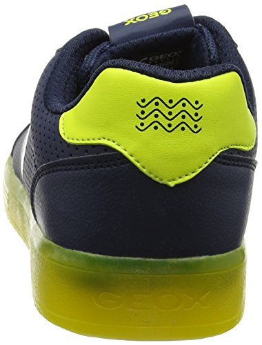 Navy B Ginnastica Scarpe da J Adulto Kommodor Lime – Blu Basse Unisex Geox xqwUA6X