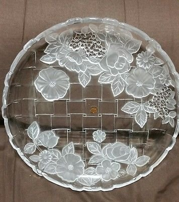 Studio Nova Rose Glass Tray