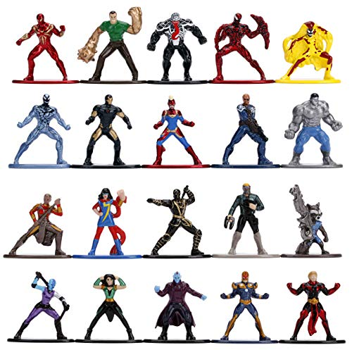 Jada Toys Nano Metalfigs Marvel Classic Comic diecast Figures 20 Pack Wave 3