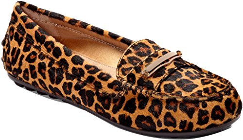 Vionic with Orthaheel Ashby Women's Slip On 8 B(M) US Tan-Leopard by Vionic