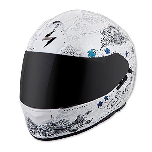 Scorpion EXO EXO-T510 Azalea White/Silver Full Face Helmet, M