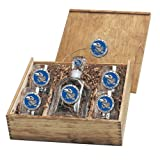 Kansas Jayhawks Capital Decanter Box Set