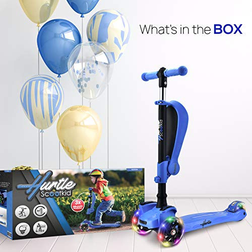Amazon.com: Hurtle HURFS56 - Patinete de 3 ruedas para niños ...