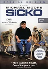 "If you want to stay healthy in America; don't get sick. Following on the heels of his award winning hit ""Fahrenheit 9/11"" and his Oscar winning film ""Bowling for Columbine;"" acclaimed filmmaker Michael Moore's new documentary sets out to inve..."