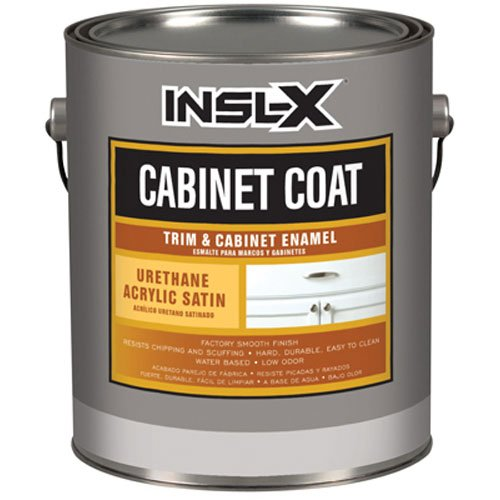 INSL-X PRODUCTS  CC4510099-04 Quart Satin White Cab Enamel (Paint Cabinet)