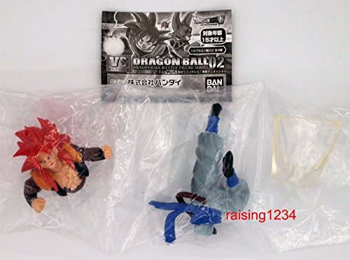 DASARA DragonBall Super VS DB Battle Figure 2 Series Gashapon (set 4 pcs)