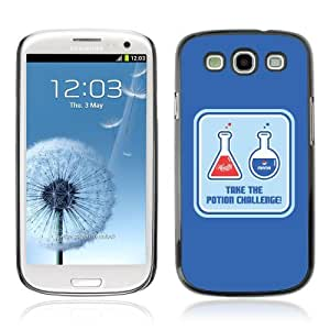 Designer Depo Hard Protection Case for Samsung Galaxy S3 / Health & Mana Potions