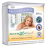 AllerZip Smooth Encasement Queen (7-12 in H)