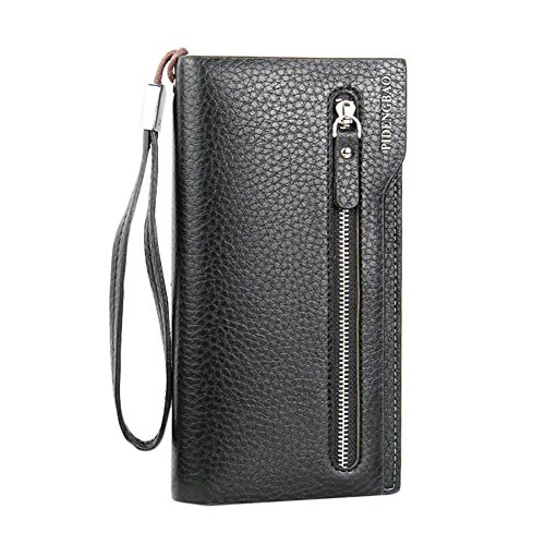 Zip Flap Checkbook Wallet - 8