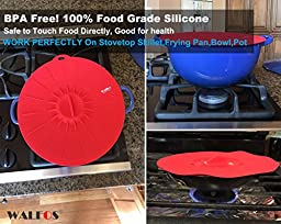 Elegant Live Set of 5 Microwave Food Covers