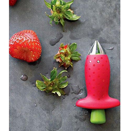 Digital Portable Fraise Berry /Équeuteur de tige Feuilles Gem Remover retrait Fruits Vide-pomme ustensile de cuisine par Hinmay