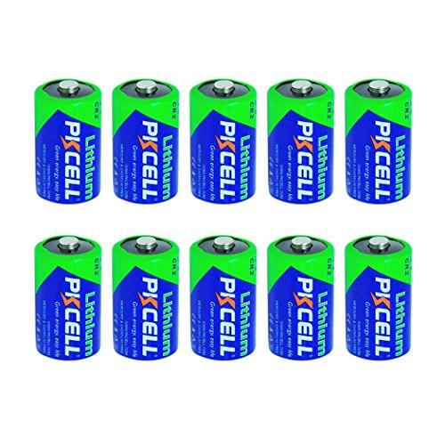 CR2 CR15H270 3v 850mAh Lithium Battery For LED Flashlight … (10pc in (3v Lithium Alarm)