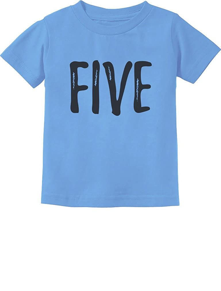 Tstars 5th Birthday Gift for Five Year Old Child Toddler Kids T-Shirt