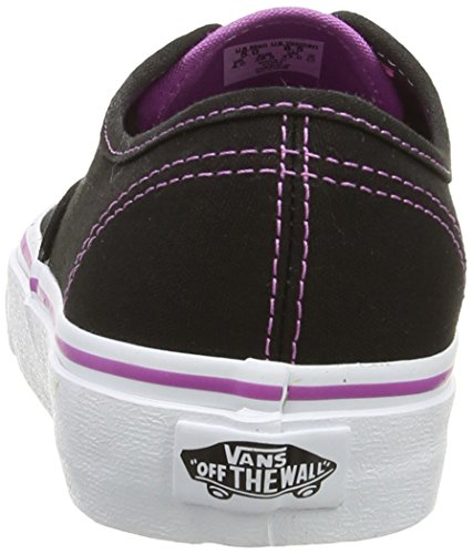 radiant Mixte Vans Authentic Orchid U Baskets Noir Adulte Mode black qwaSTAwg