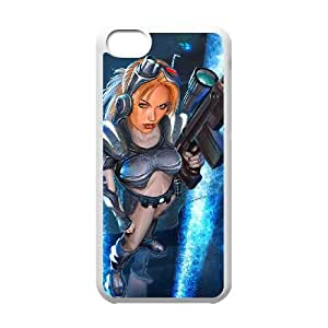 starcraft ghost iPhone 5c Cell Phone Case White xlb2-288387