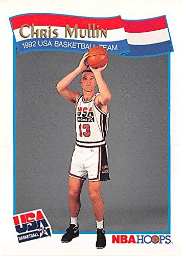 - Chris Mullin Basketball Card (1992 USA Dream Team) 1991 Hoops #57
