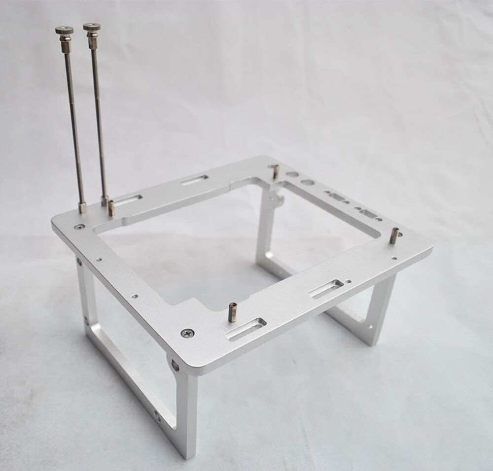 Test Bench ITX Computer Open Air Case A4 Bracket Water Cooling Aluminum DIY Bare Frame Support Graphics Card
