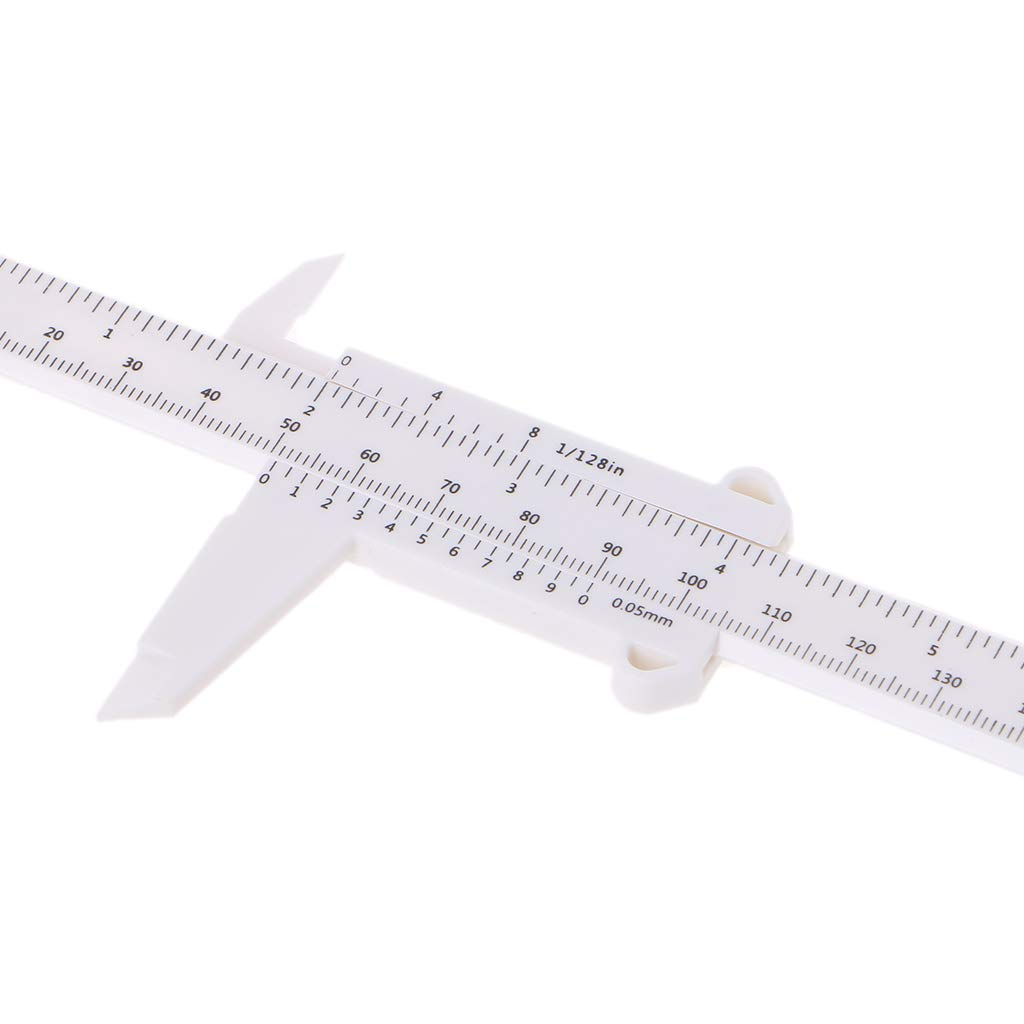 Brucelin Messschieber Kunststoff Mikrometer Messwerkzeug 0-150 mm