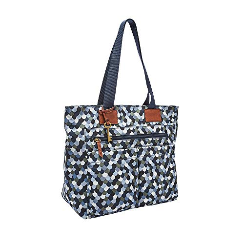 Fossil Bailey Tote Bag, Blue Multi