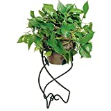 Achla Designs FB-06 Helix Black Flower Pot Stand II For Sale