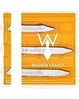 Wurkin Stiffs Mens Assorted Size Power Collar Stays
