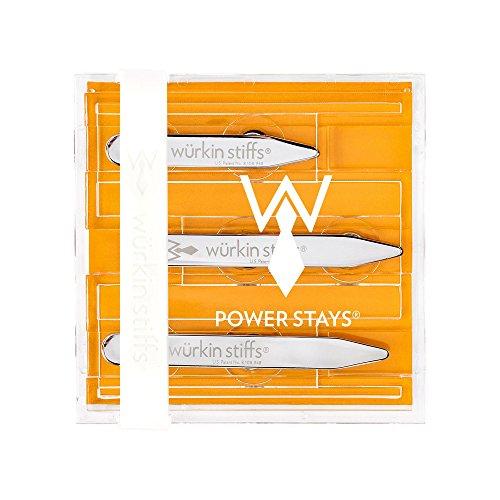 Viola Apparel - Würkin Stiffs Assorted Size Magnetic Power Collar Stays (3 Pair)