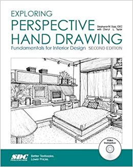 Exploring Perspective Hand Drawing: Fundamentals For Interior Design:  Stephanie Sipp, Cheryl Taylor: 9781585039012: Books   Amazon.ca