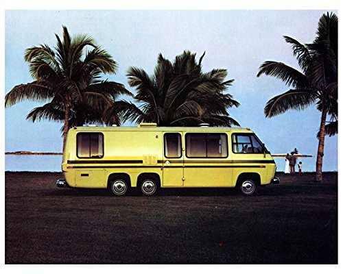 1975 GMC Palm Beach RV Motorhome Factory Photo