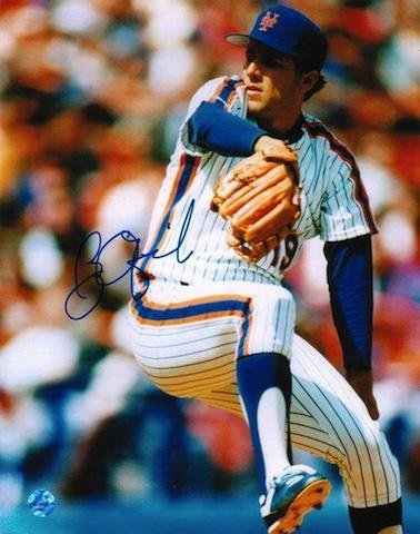 Bobby Ojeda New York Mets 8x10 Photo Autographed - Autographed MLB Photos Athletic Promotional Events