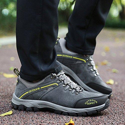 Abenteuer Größe Leichte Camping Wanderschuhe Rutschfeste Große Sneaker Wandern Freizeit Männlich Laufschuhe Grey Outdoor Yra Reisen 8wq4Sw