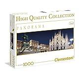 Clementoni 1000-Piece Panoramic Puzzle, Milano