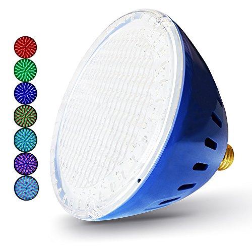 Led Lamp Pool (LAMPAOUS in ground Pool Bulb Multi Color 35Watt 120VAC, Compatible for Hayward Astrolite Pentair Amerlite Fixture)