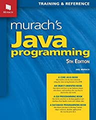 This is the 5th edition of Murach's classic Java book that's trained thousands of developers in the last 15 years. Now fully updated to Java 9, this book helps any programmer learn Java faster and better than ever before:              ...