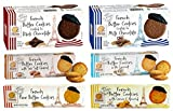Pierre Biscuiterie French Butter Cookies Variety 6 Pack